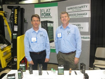 Jim and Todd at the ProMat show in Chicago